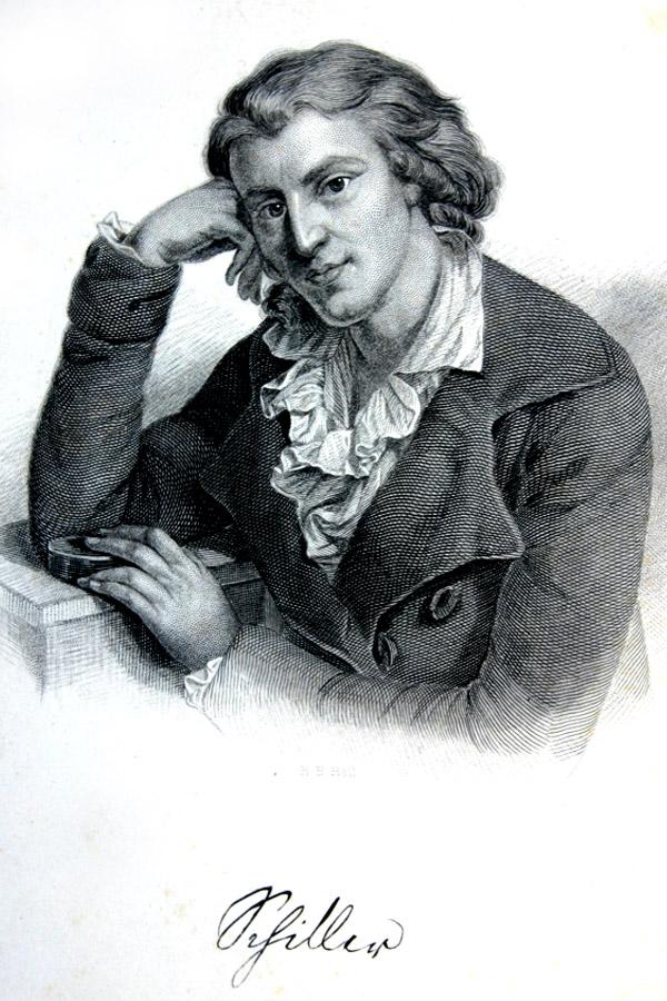 Коллекция книг о Шиллере.